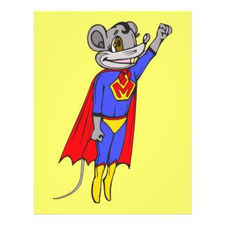 """Ratón estupendo folleto 8.5"""" x 11"""""""