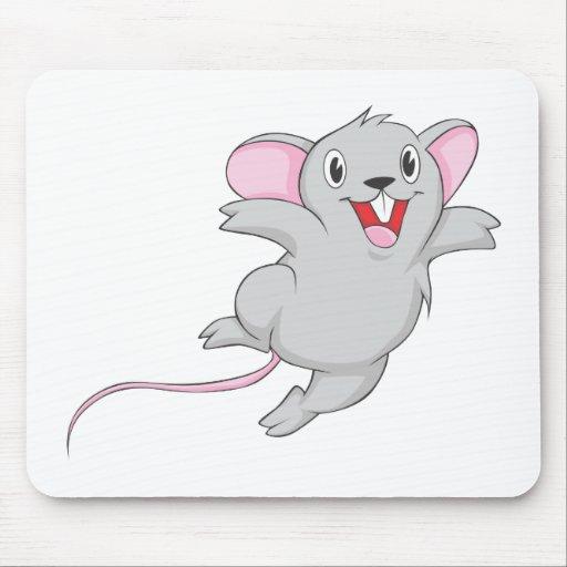 Ratón feliz alfombrilla de ratón