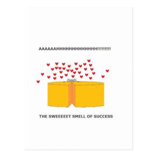 ratón feliz postales