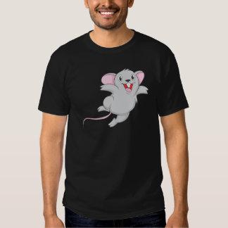 Ratón feliz remera