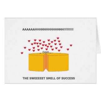 ratón feliz tarjeta de felicitación