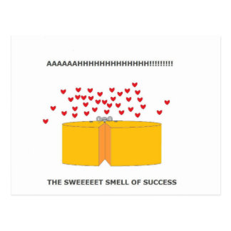 ratón feliz tarjetas postales
