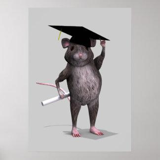 Ratón graduado póster