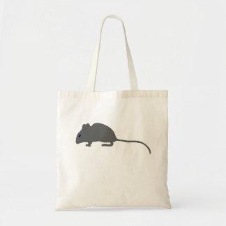 Ratón gris bolsa