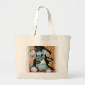 Ratón gris bolsas