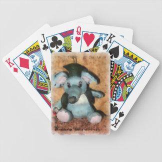 Ratón gris baraja