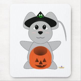 Ratón Huggable del gris de la bruja Alfombrilla De Ratón