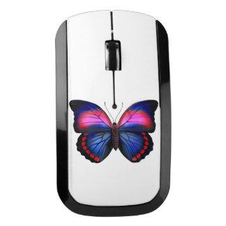 Ratón inalámbrico del ordenador de la mariposa