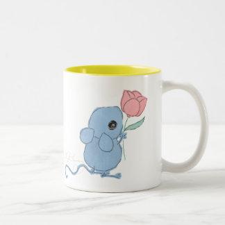 Ratón lindo con el ~ AngelArtiste de la taza del c