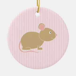 Ratón lindo ornamente de reyes