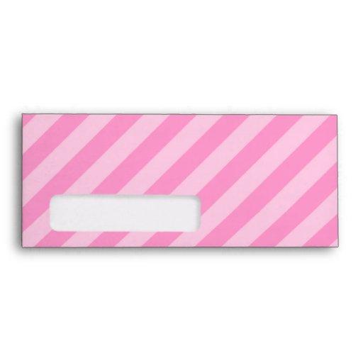 Ratón lindo del dibujo animado en rayas rosadas