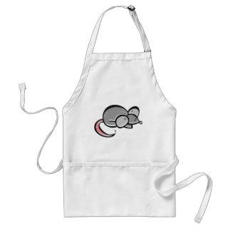 Ratón lindo delantal