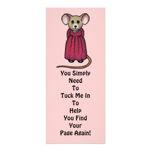 """Ratón lindo en lápiz del color: Señal: """"Remétame """" Invitación"""