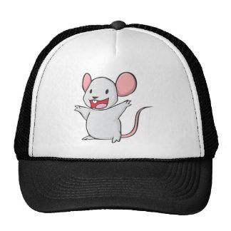 Ratón lindo gorra
