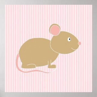 Ratón lindo impresiones