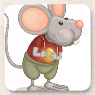 Ratón lindo posavasos de bebidas