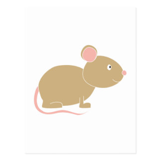 Ratón lindo postal