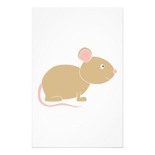Ratón lindo tarjeton