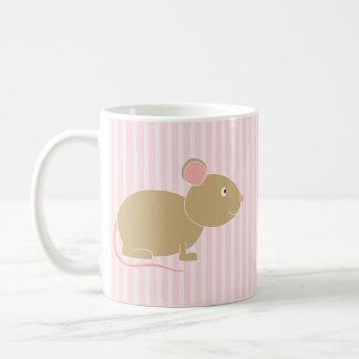 Ratón lindo tazas de café