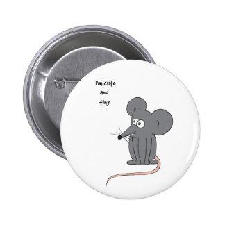 Ratón lindo y minúsculo pins