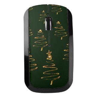 Ratón mágico del árbol del Sparkler del navidad Ratón Inalámbrico