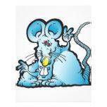 Ratón maravilloso plantilla de membrete