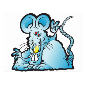 Ratón maravilloso postales