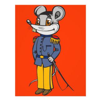 "Ratón militar Solider Folleto 8.5"" X 11"""
