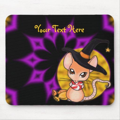 Ratón Mousepad de Halloween Alfombrilla De Ratón