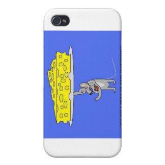 ratón móvil del queso iPhone 4 carcasas