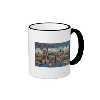 Raton, New México - escenas grandes de la letra Taza A Dos Colores