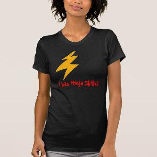 Ratón Ninja Skillz Camisetas