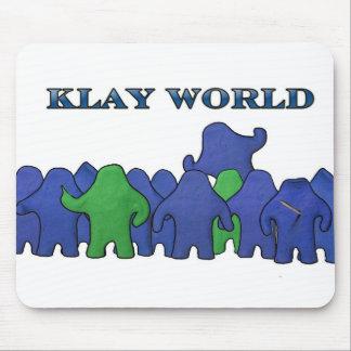 Ratón Padd del mundo de Klay Tapetes De Ratón