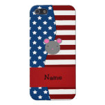 Ratón patriótico conocido personalizado iPhone 5 coberturas