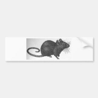 Ratón Pegatina Para Auto