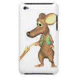ratón pobre iPod Case-Mate fundas