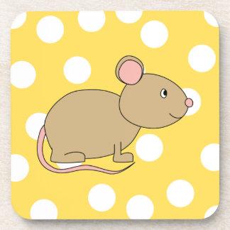 Ratón Posavasos De Bebida