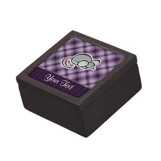 Ratón púrpura cajas de recuerdo de calidad