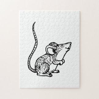 Ratón Rompecabeza
