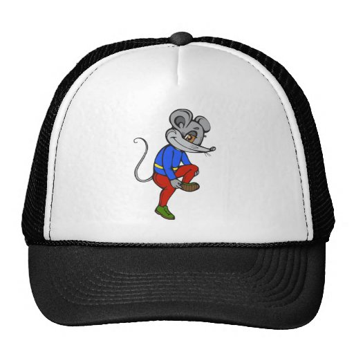 Ratón que activa gorro