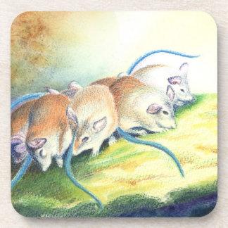 Ratón, ratones posavaso