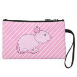 Ratón rosado lindo
