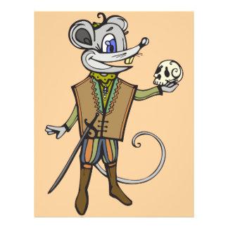 "Ratón shakesperiano folleto 8.5"" x 11"""