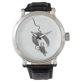 Ratón, Sumi-e Relojes