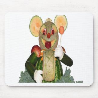 ratón tallado del batería de las bestias alfombrillas de ratón