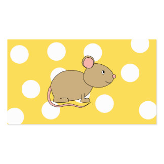 Ratón Tarjetas De Negocios