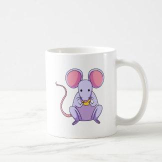 Ratón Taza Básica Blanca