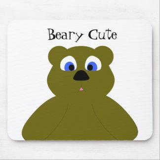ratón tubsy del oso mate tapetes de ratones