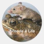 ratón, vida de los amigos 4 etiqueta