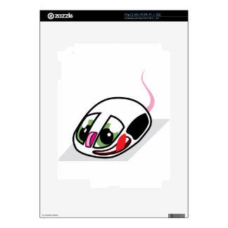 Ratón vivo del ordenador skins para iPad 2